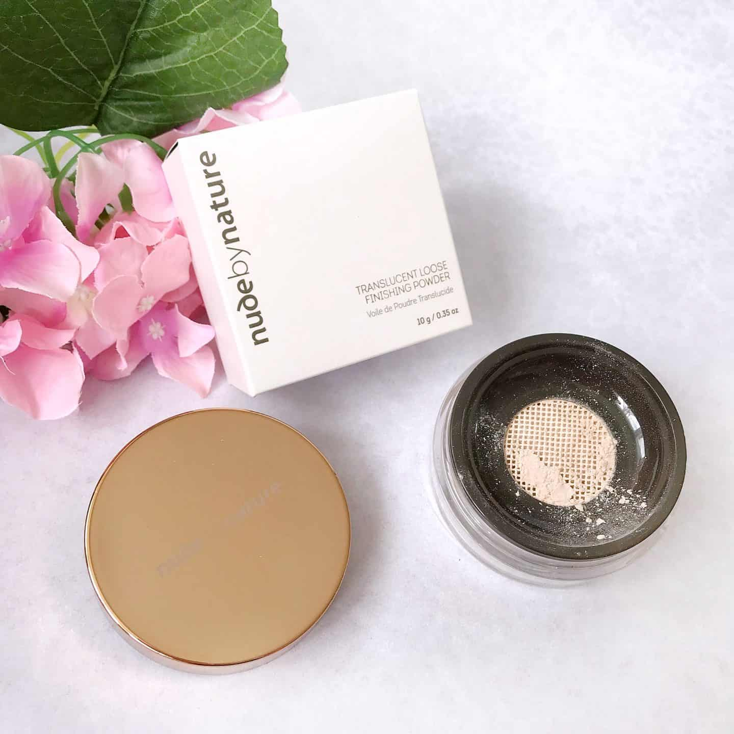 Nude by Nature Translucent Loose Finishing Powder Review