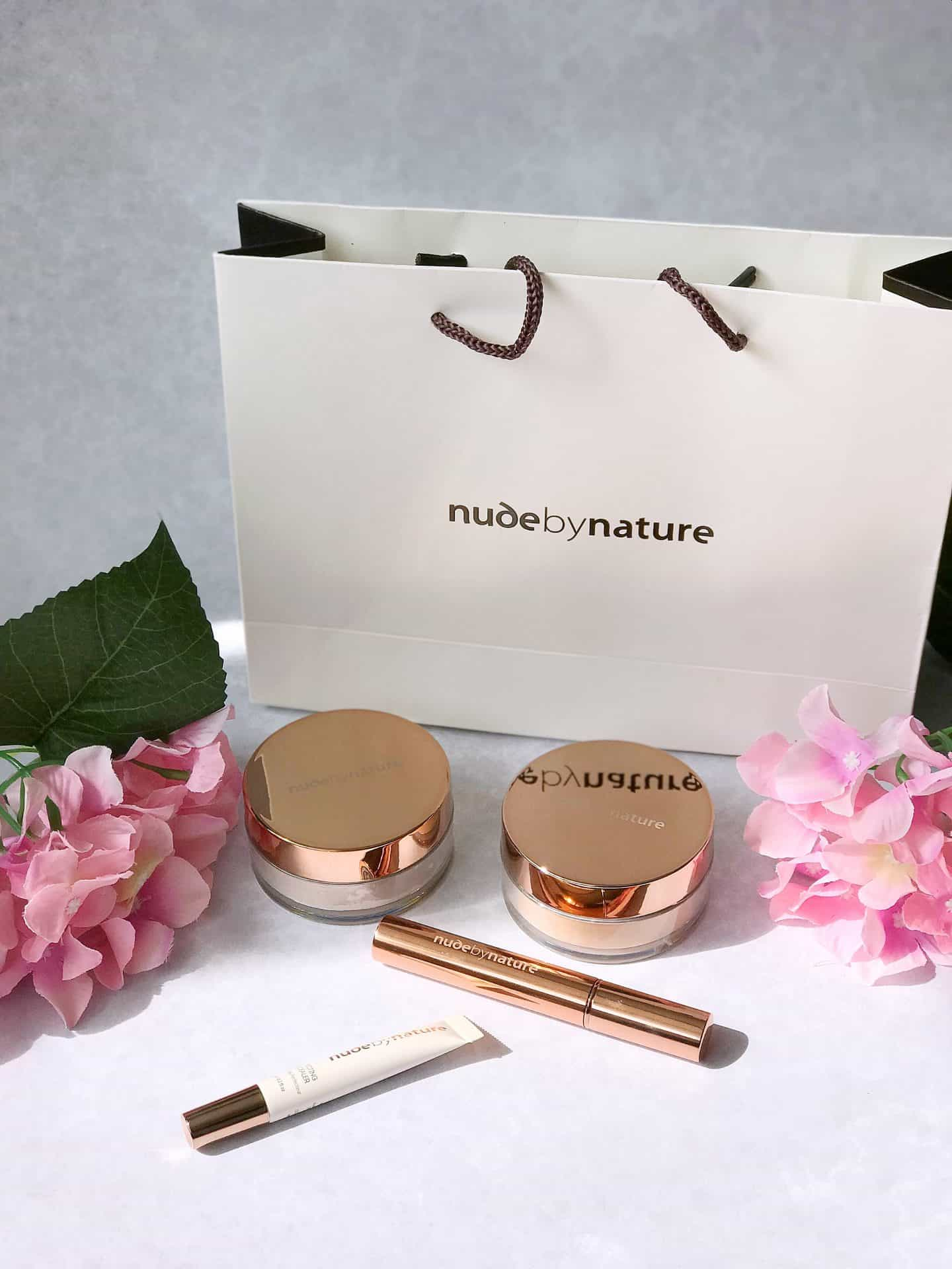 Nude by Nature natural make-up review