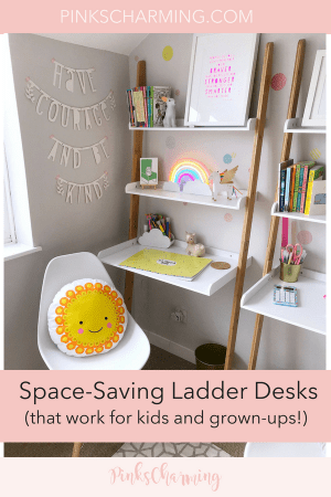Child-Friendly, Space-Saving Desks that are perfect for grown-ups too