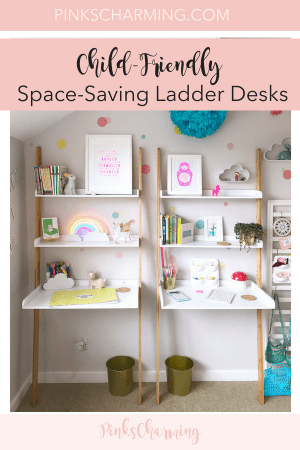 Child-Friendly, Space-Saving Ladder Desks