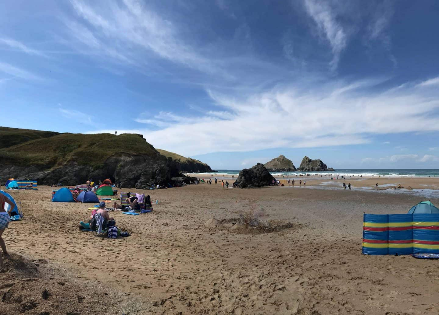 Holywell Bay beach, Newquay