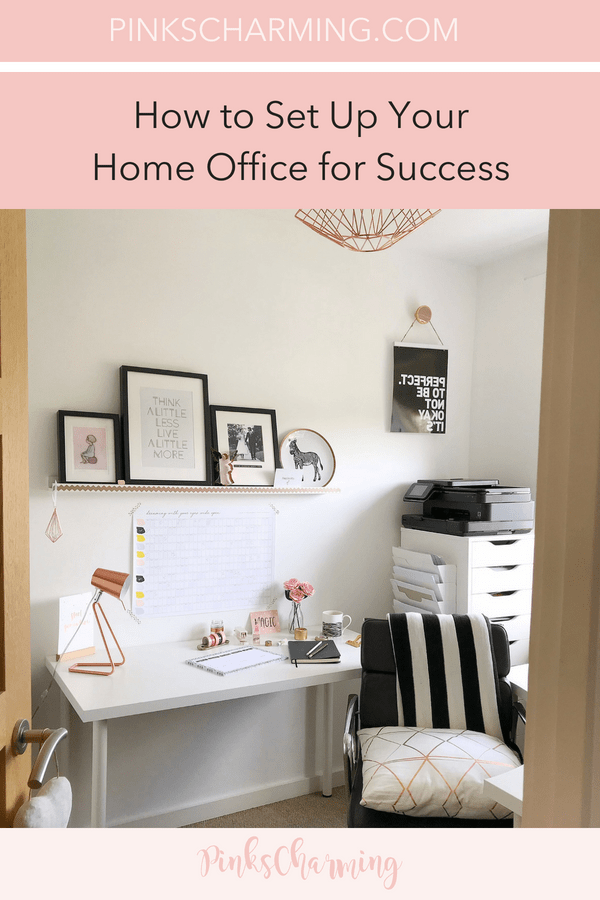 How to set up your home office for success with stylish stationery from Got2Jot, practical furniture from IKEA and everything else you need to make your home office the perfect place to work.