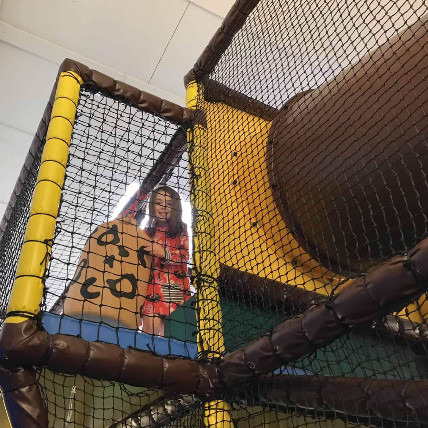 Soft play at Trevornick, Cornwall