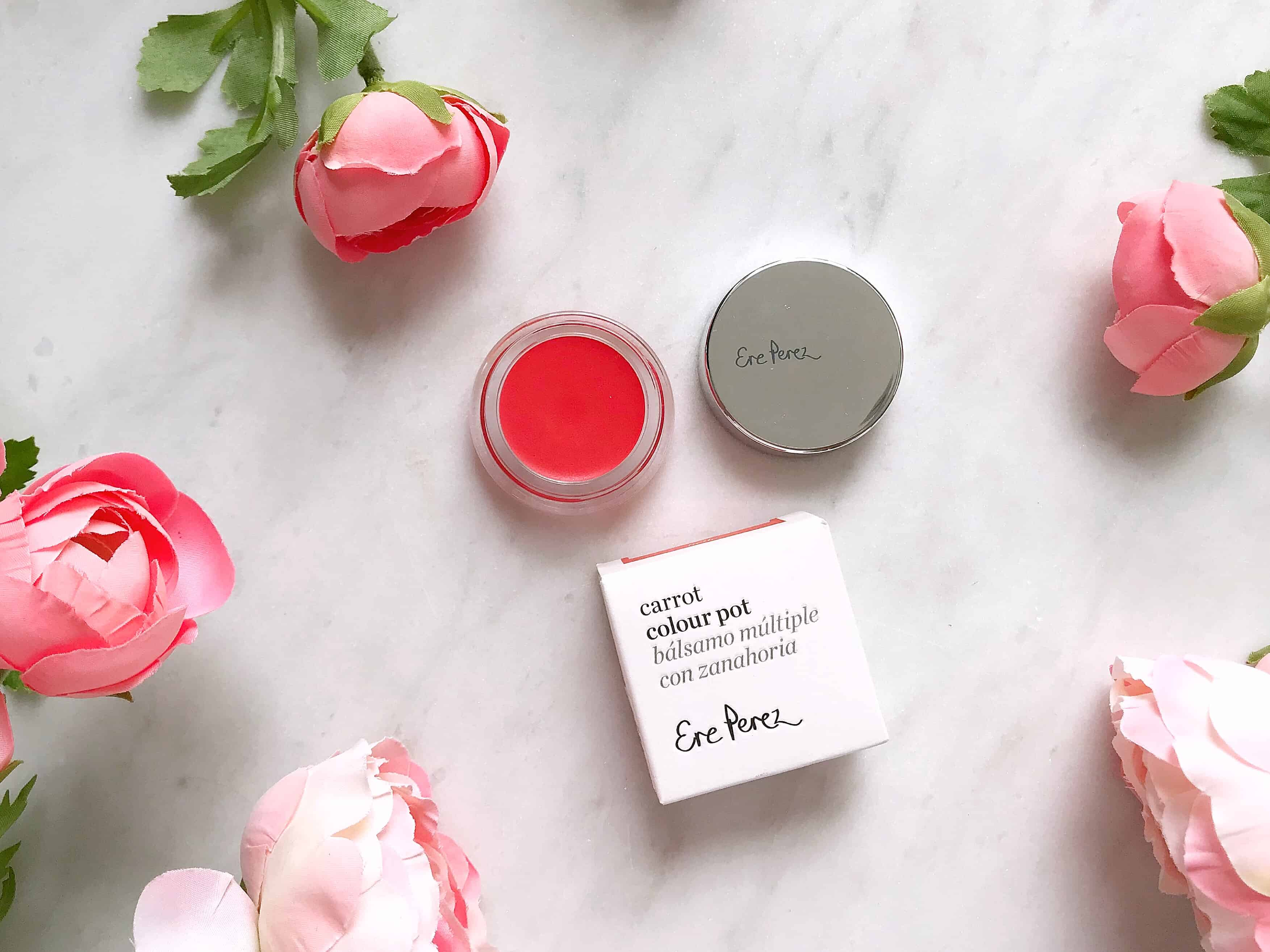 Ere Perez Natural Cosmetics Carrot Colour Pot in Hello review