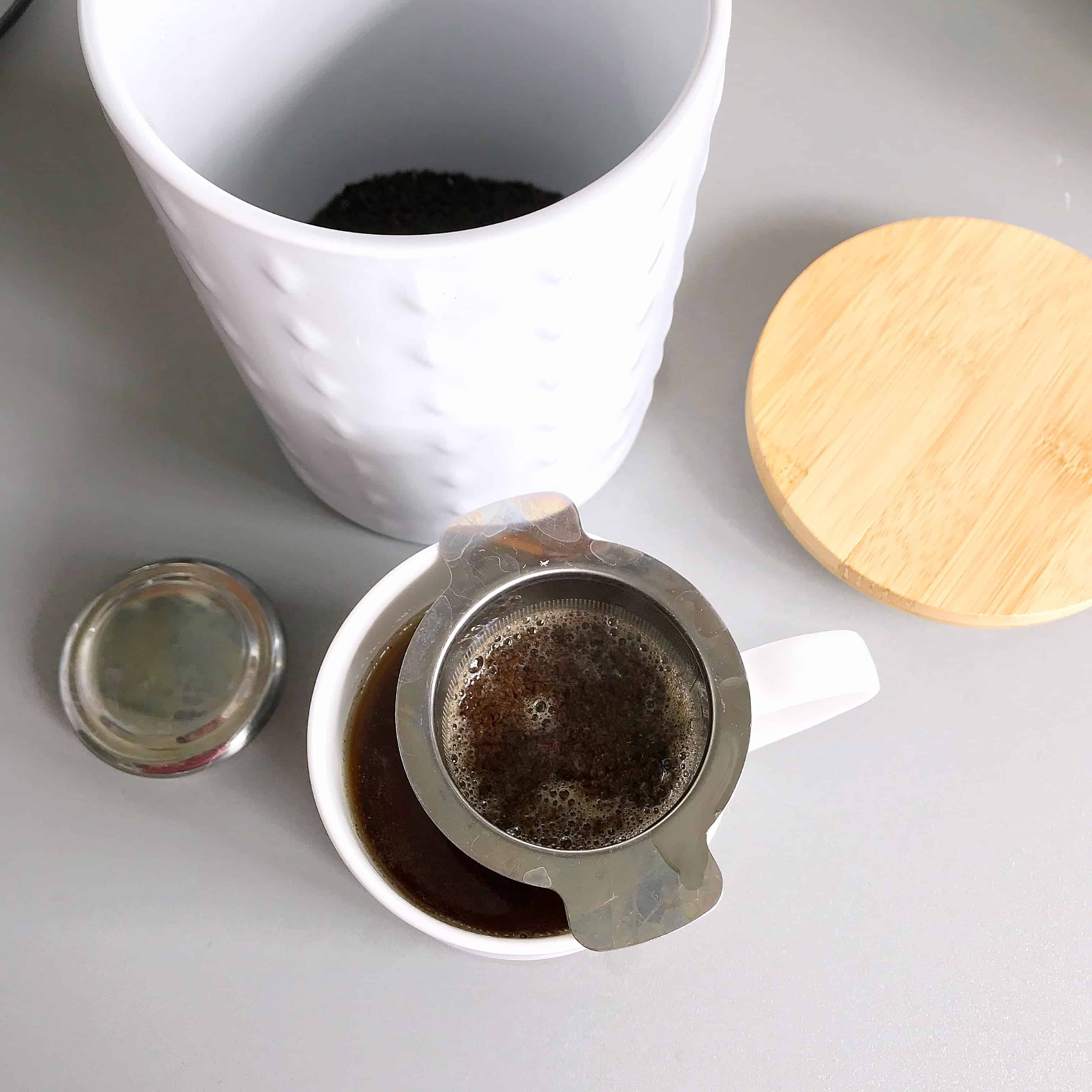 Loose leaf tea and a strainer are easy swaps you can make to reduce waste
