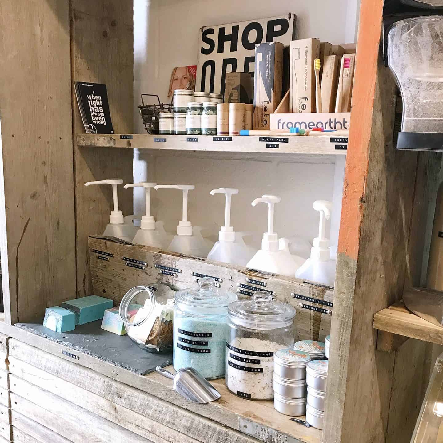 Refilable toiletries are easy swaps you can make to reduce waste
