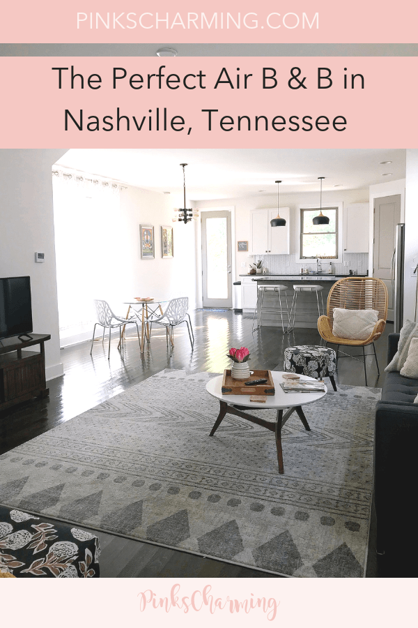The Perfect Air B & B In Nashville, Tennessee