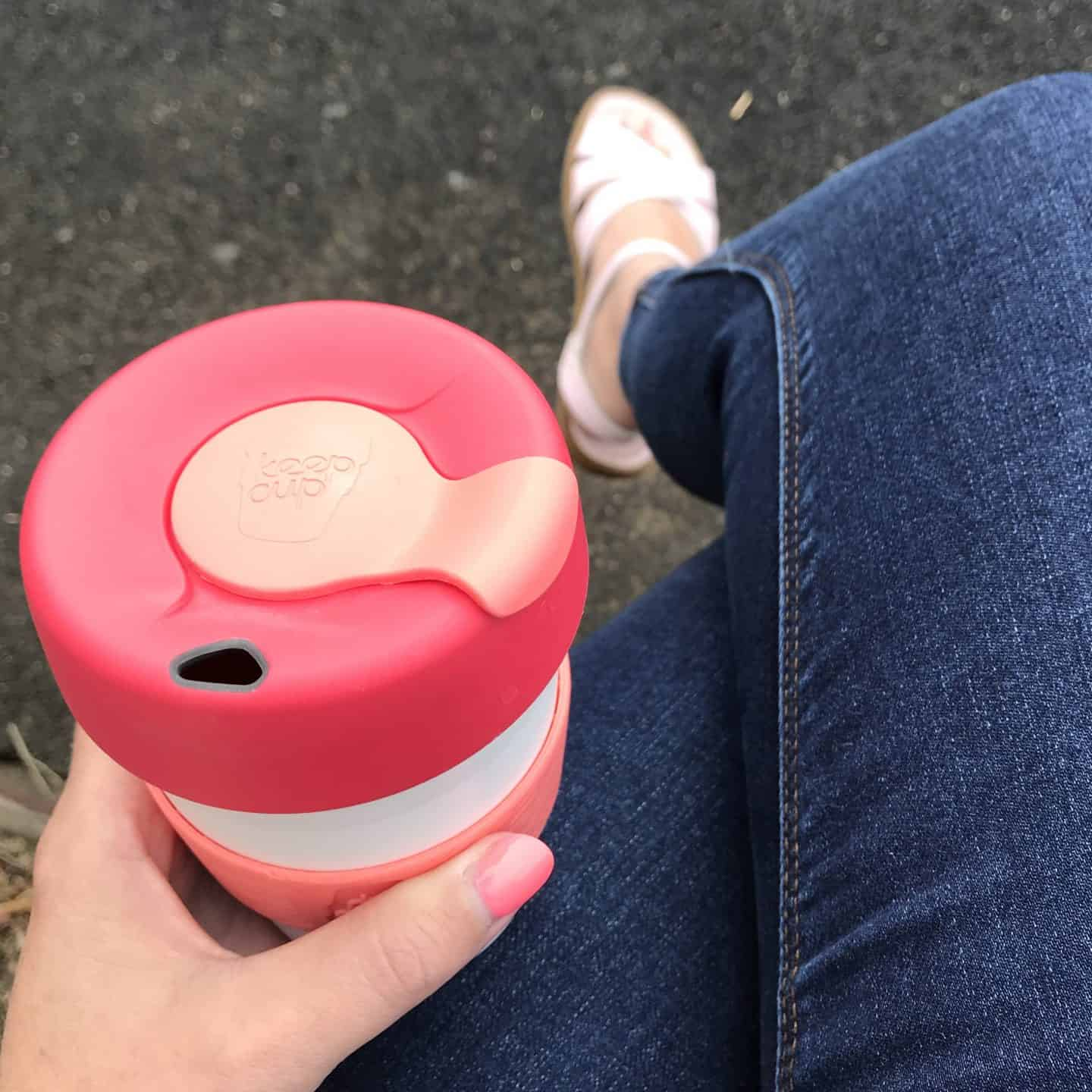 Using a Keep Cup is an easy way to reduce waste