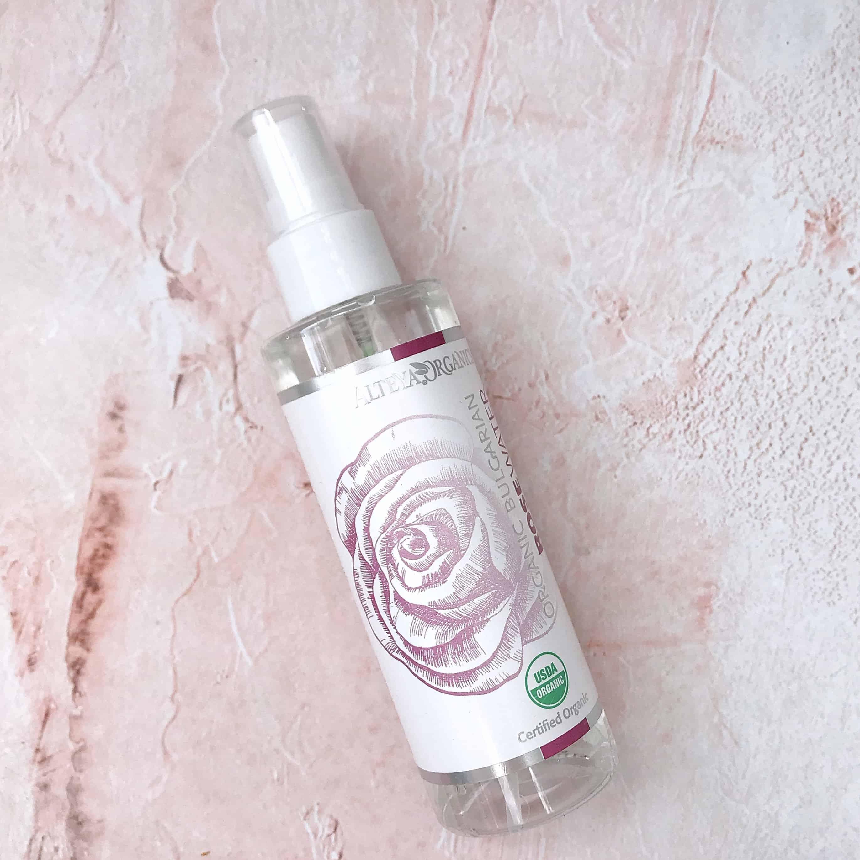 Alteya Organics Certified Organic Bulgarian Rose Water Spray