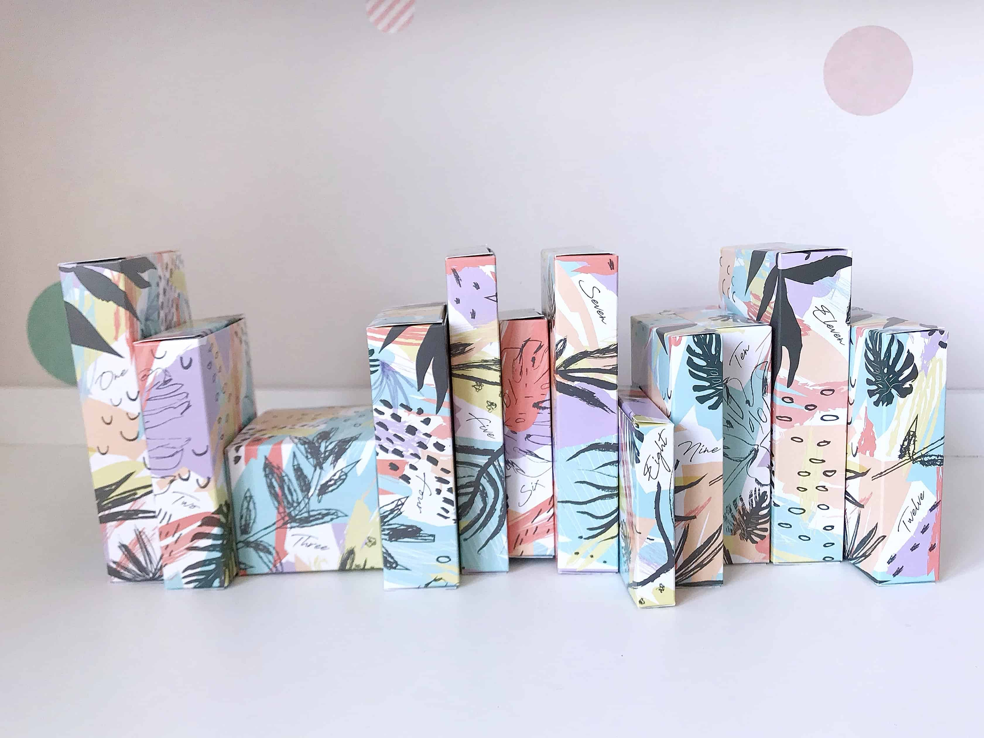 Green People Green Regime Beauty Advent Calendar boxes