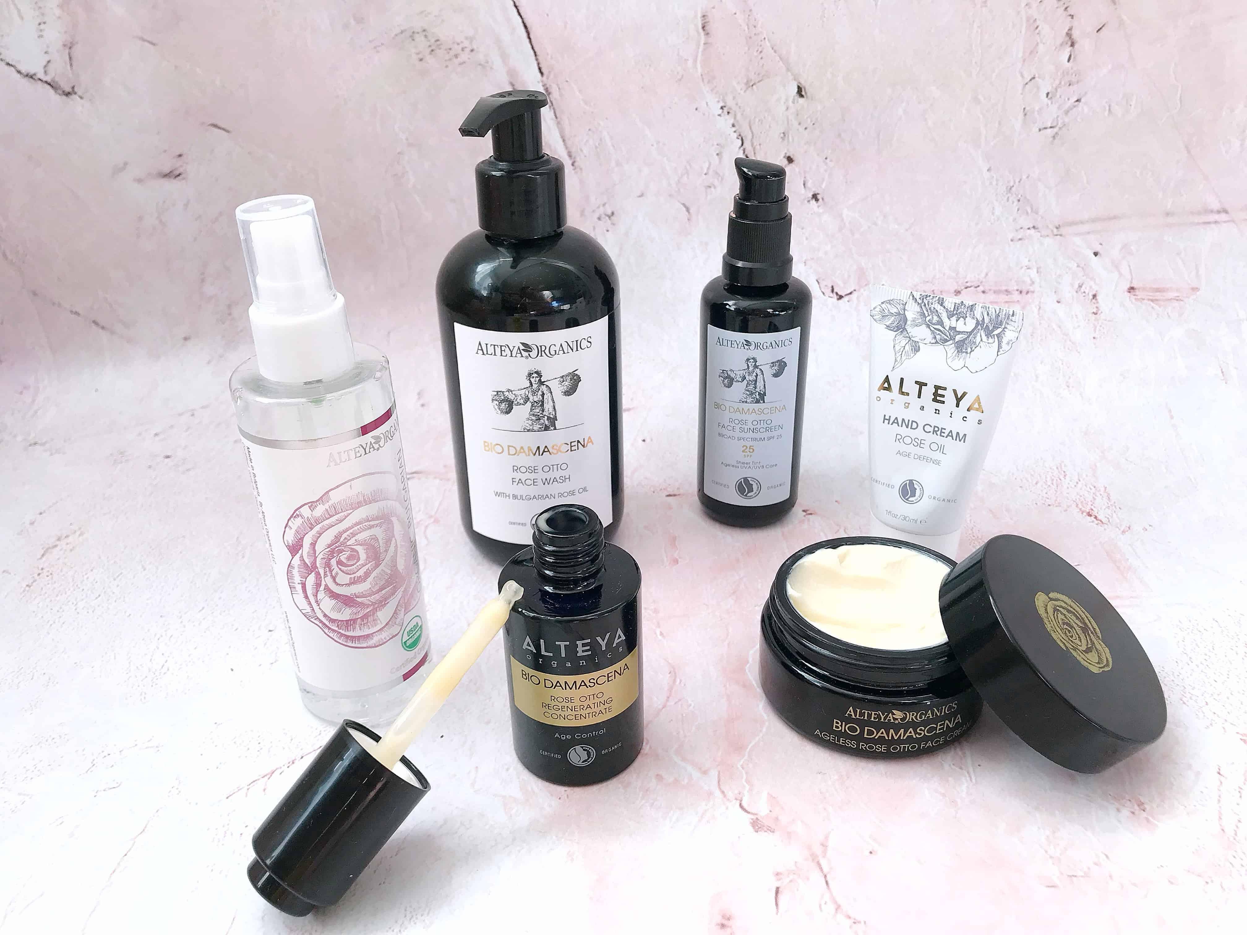 Natural Brand Focus Alteya Organics Skin Care