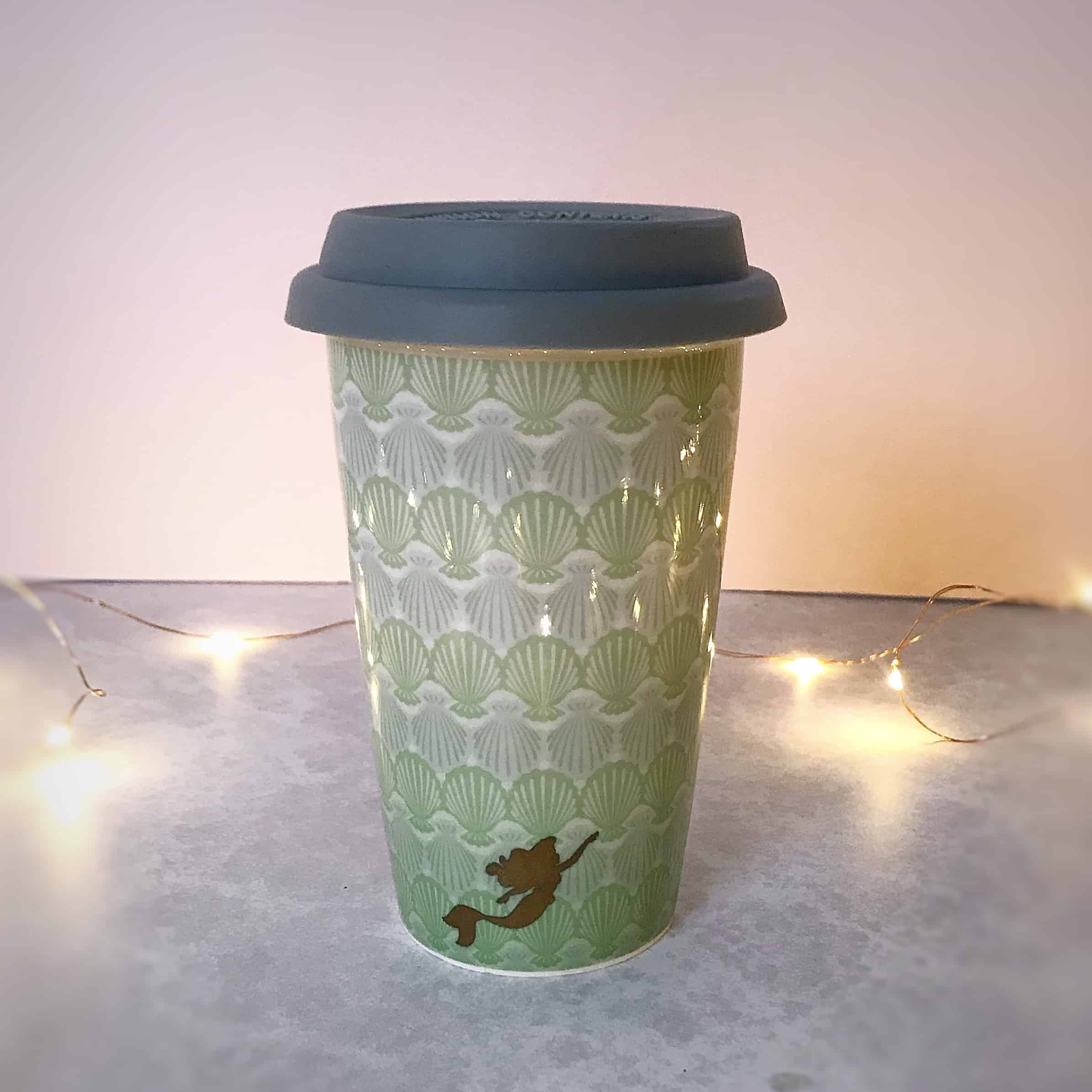 Little Mermaid travel mug
