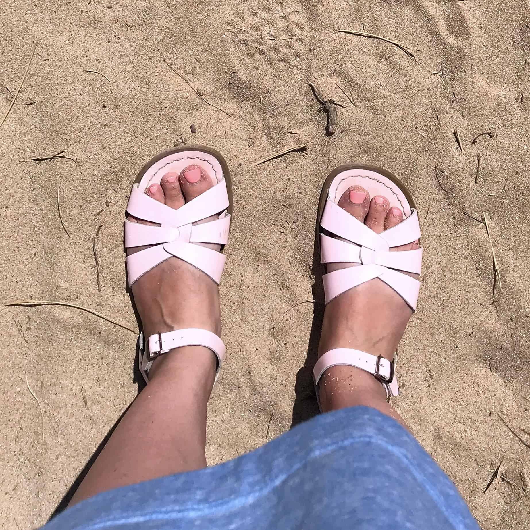Shiny pink Original Salt-Water Sandals