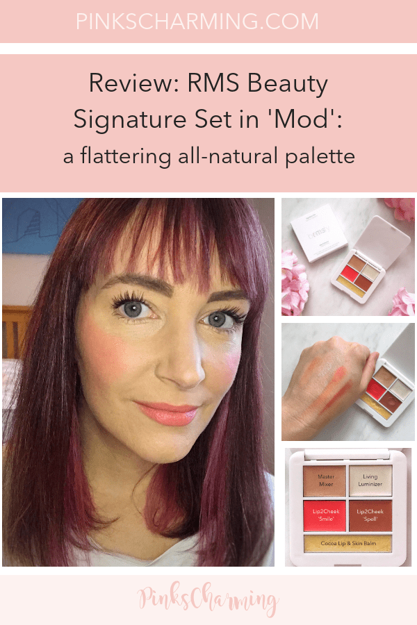 Review - RMS Beauty Signature Set in 'Mod'. A flattering, versatile all-natural make-up palette