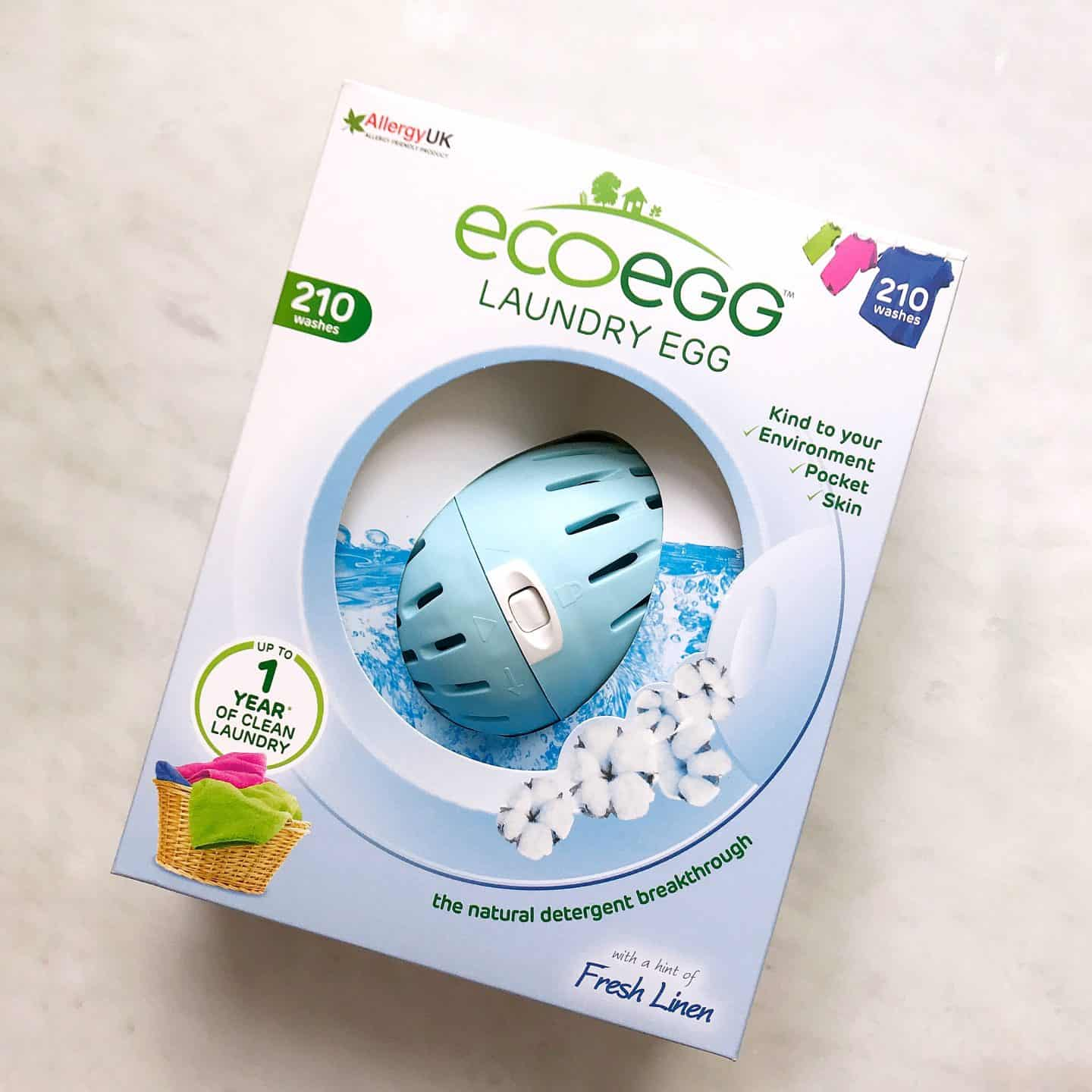 Eco Egg for more eco-friendly laundry