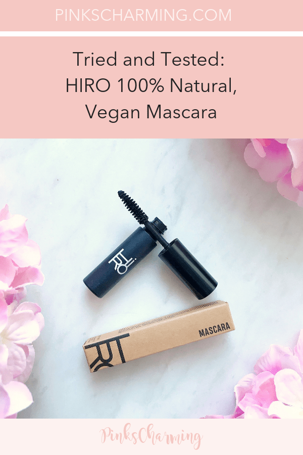 Hiro Mascara Review - 100% Natural Vegan Mascara Tried and Tested