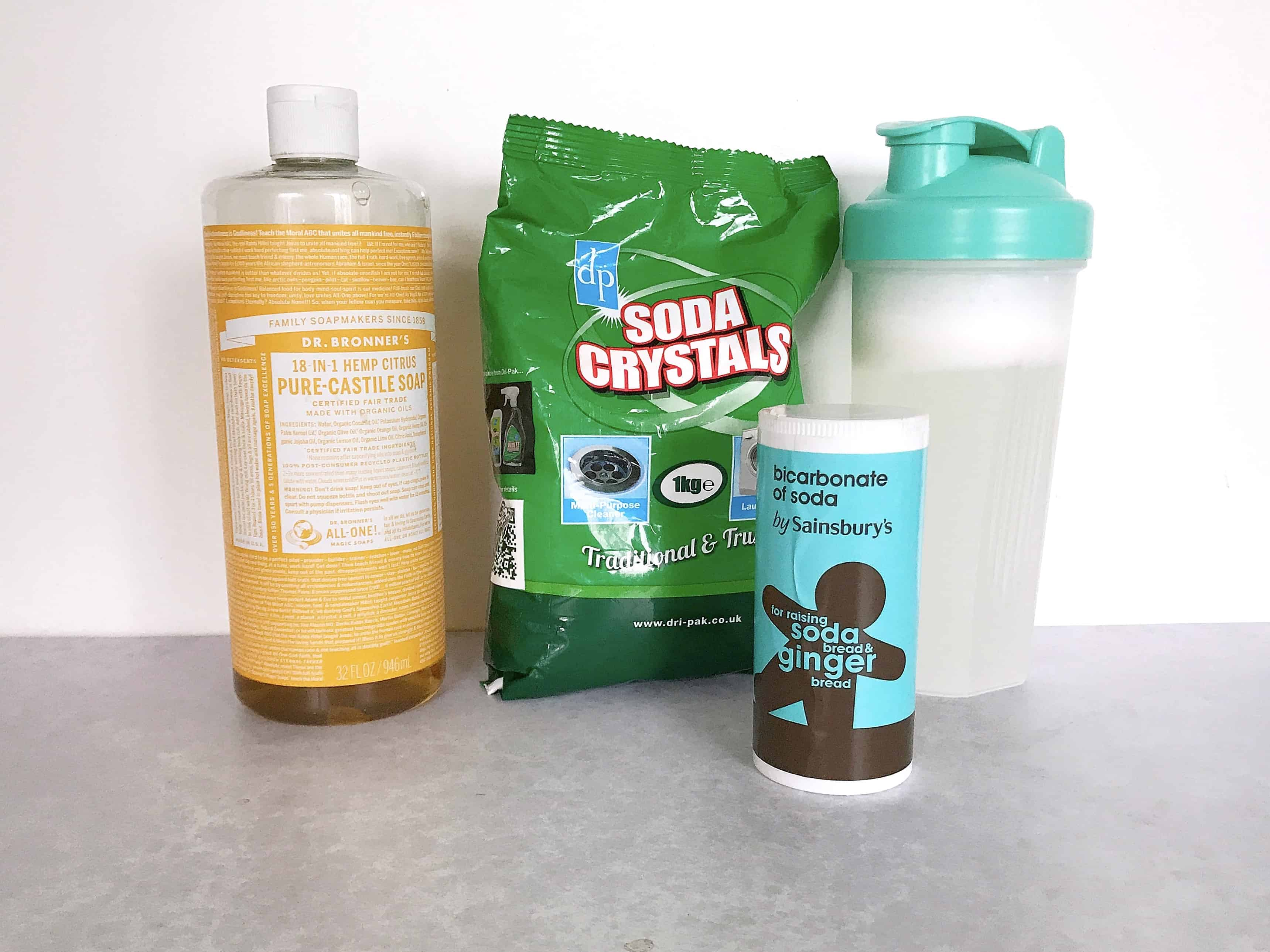 Eco-Friendly Homemade Laundry Detergent