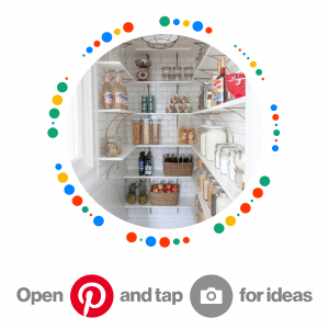 Pincode for Pantry Cupboard Inspiration Pinterest Board
