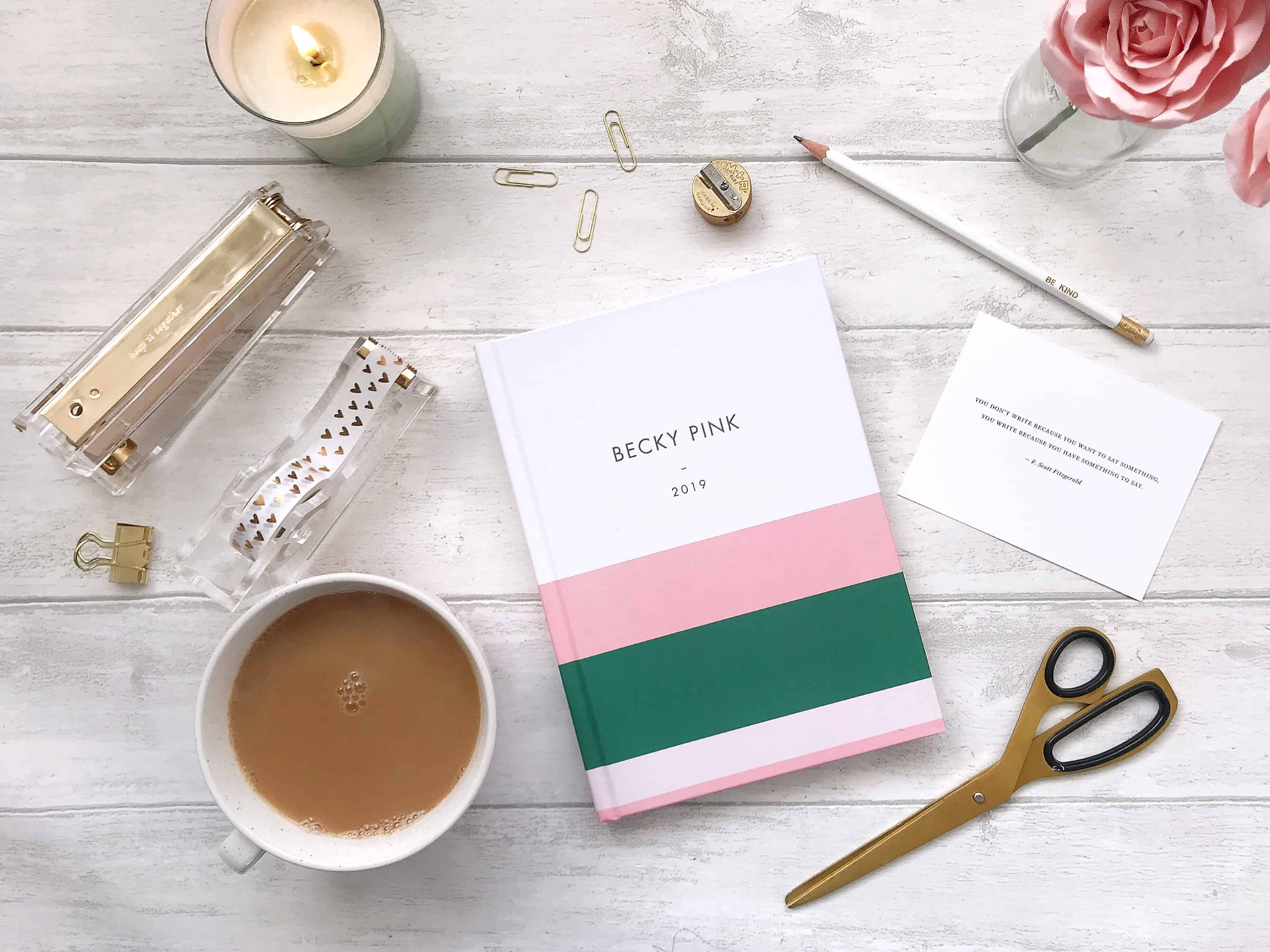 Planning My Work and Life with a Gorgeous New Diary