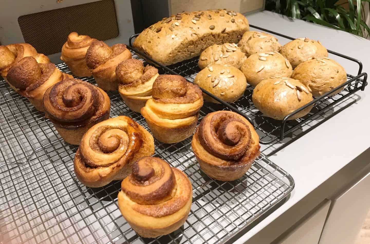 Learning to Bake at a Bread-Making Class at Cookery School, London