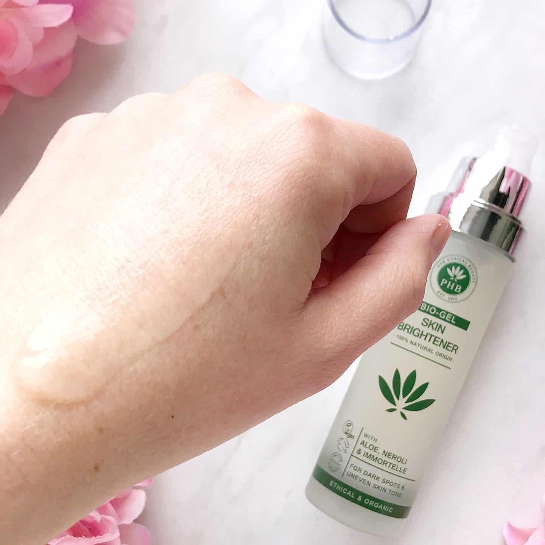 PHB Ethical Beauty Bio-Gel Skin Brightener swatch