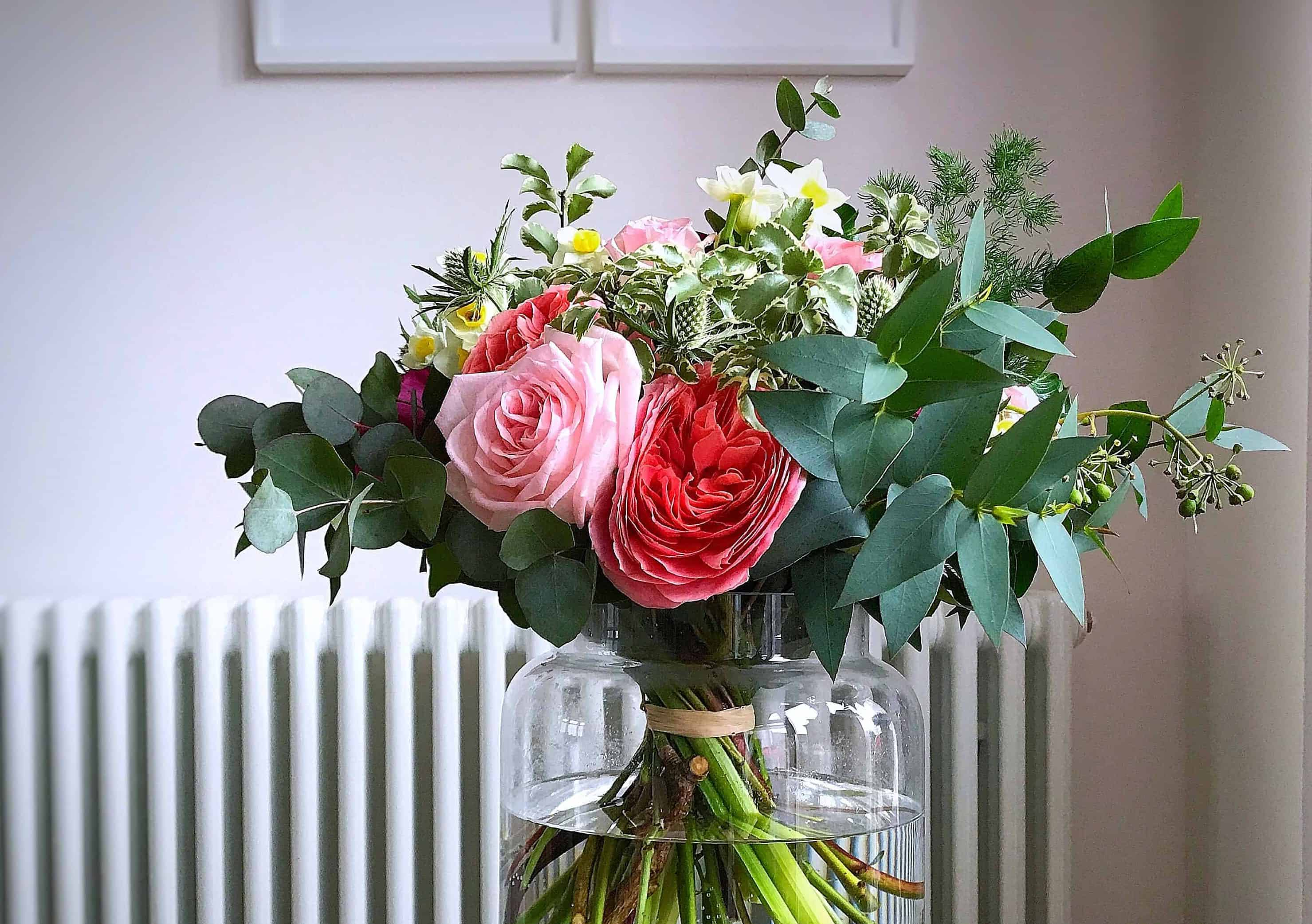 A beautiful bouquet of sustainable flowers for Mother's Day