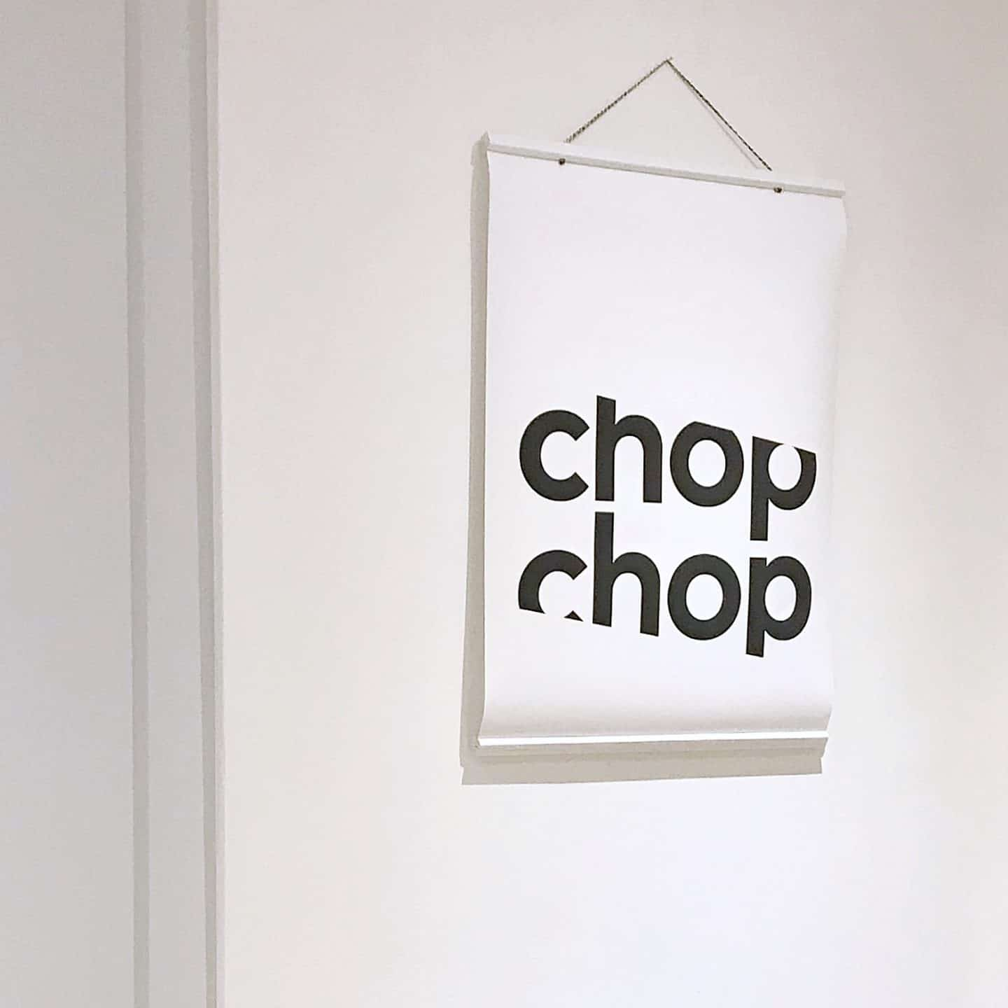 Gayle Mansfield Chop Chop print makes a perfect Mother's Day gift idea
