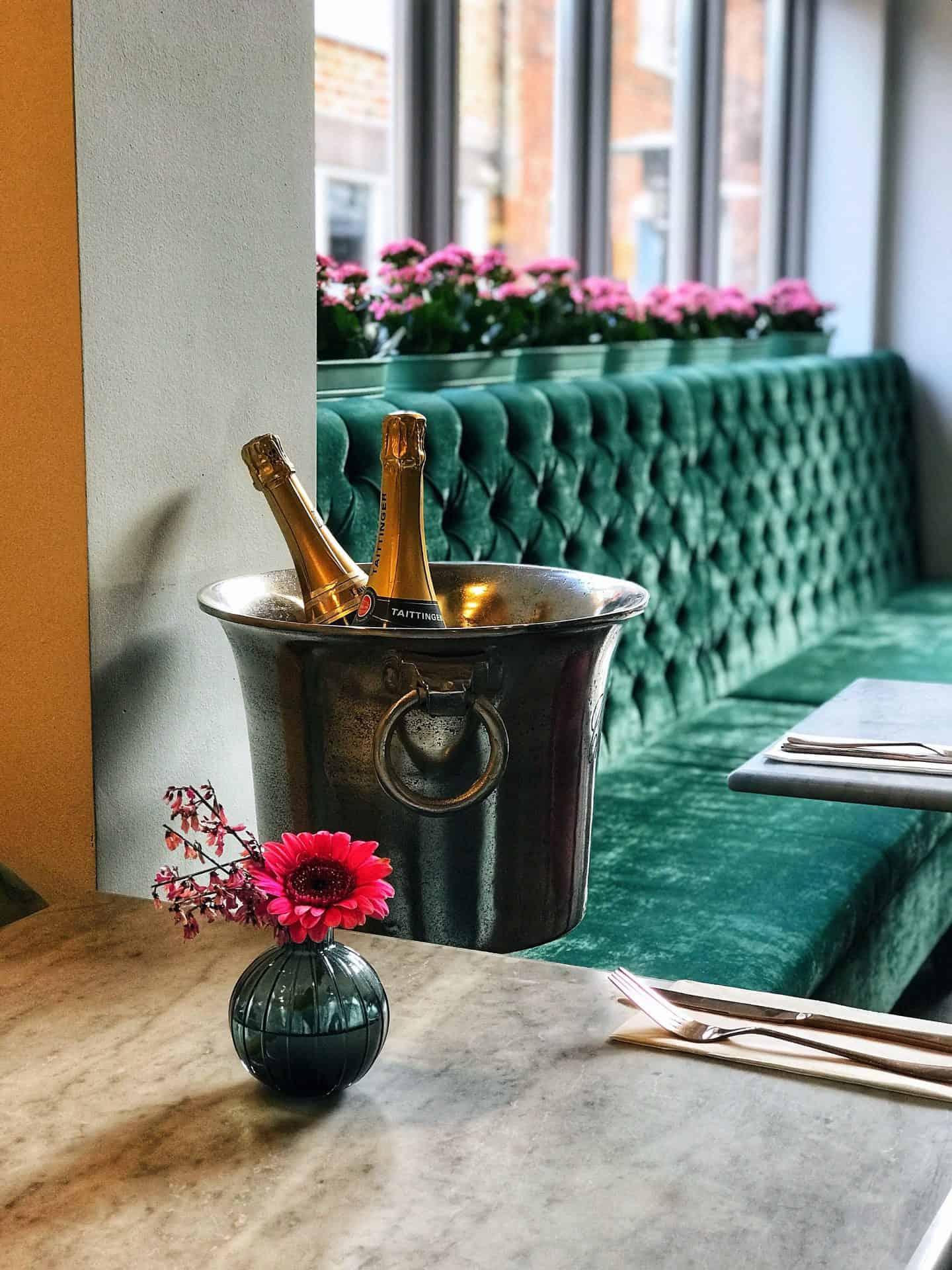 Inside French Affaire in Stony Stratford