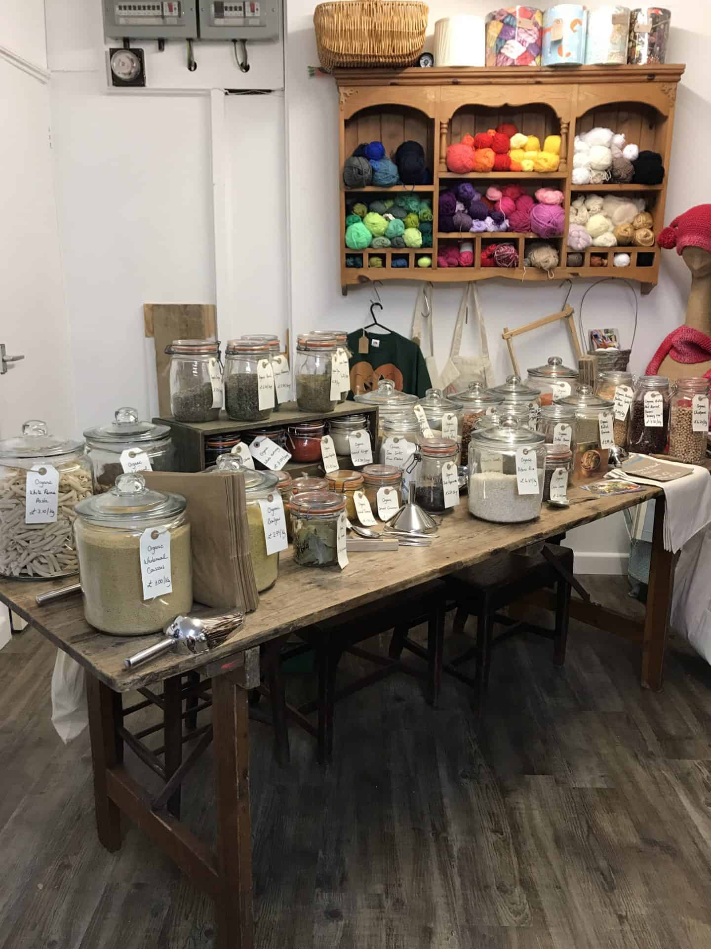 My Refill Market Pop Up sustainable stores in Milton Keynes