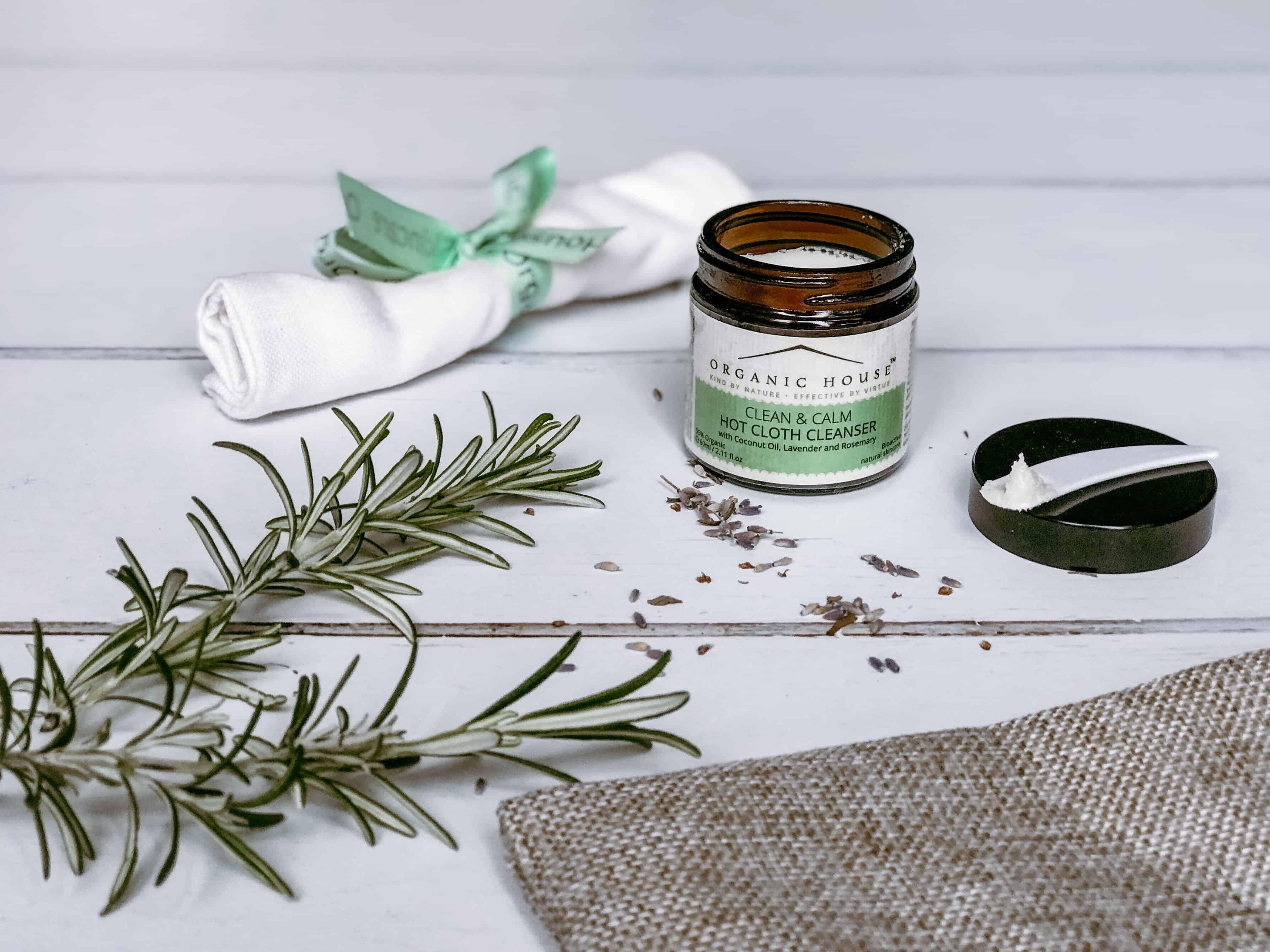 Organic House Clean & Calm Hot Cloth Cleanser Review