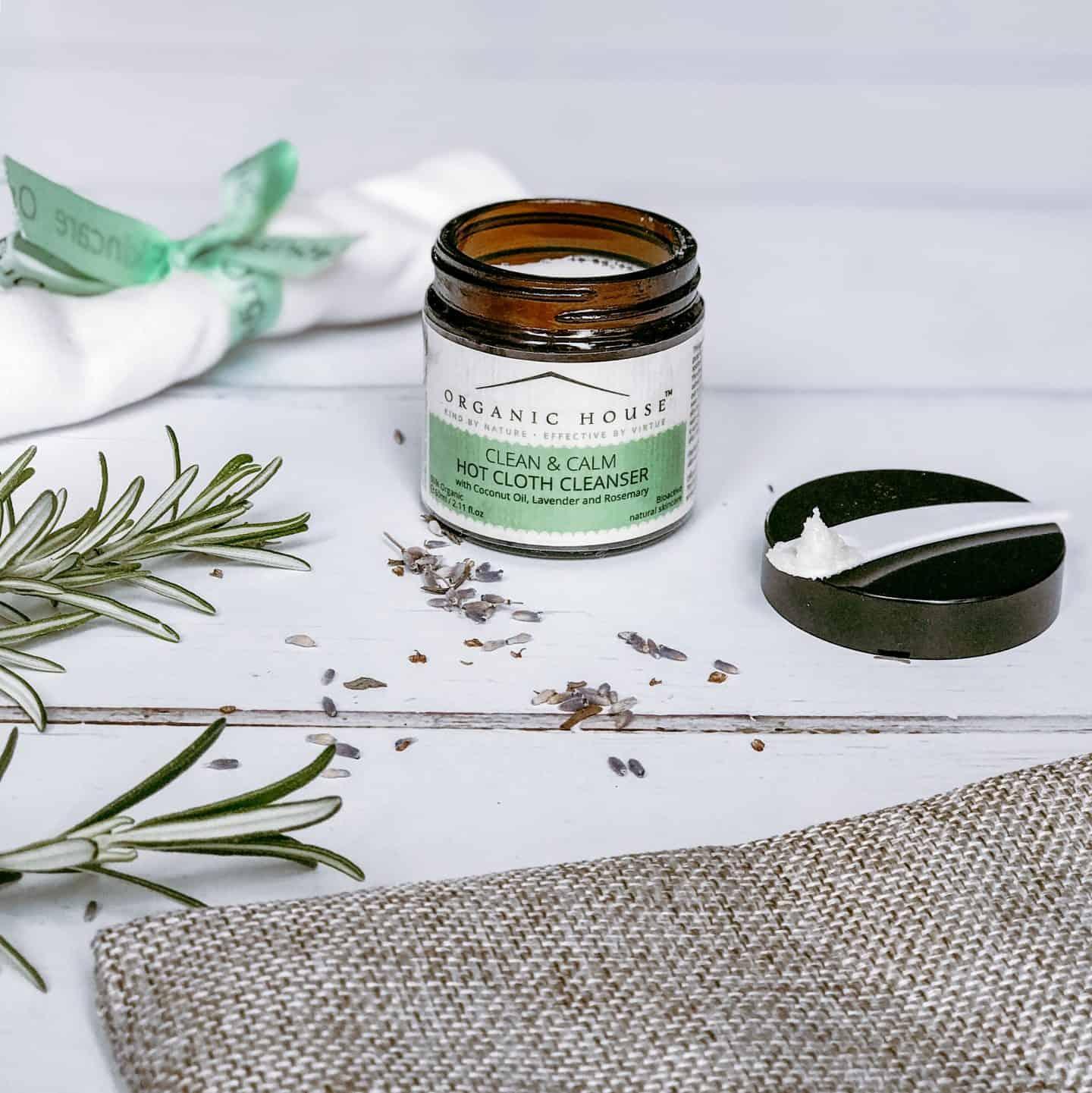 Organic House Clean & Calm all-natural cleansing balm