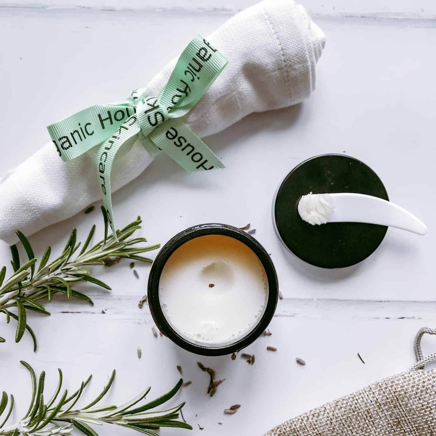 Organic House Clean & Calm Hot Cloth Cleanser with Lavender and Rosemary -the ideal all-natural cleansing balm