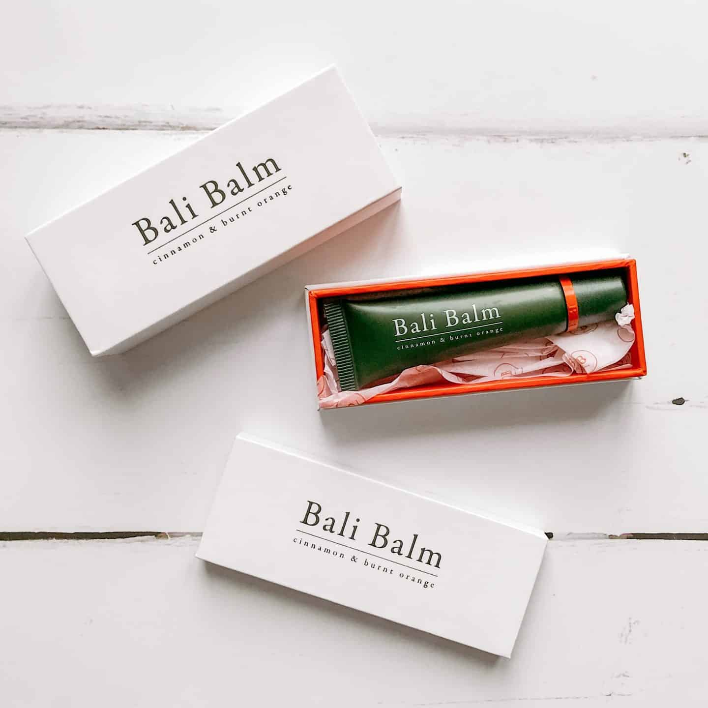 Luxury Natural Lip Balm from Bali Balm with packaging