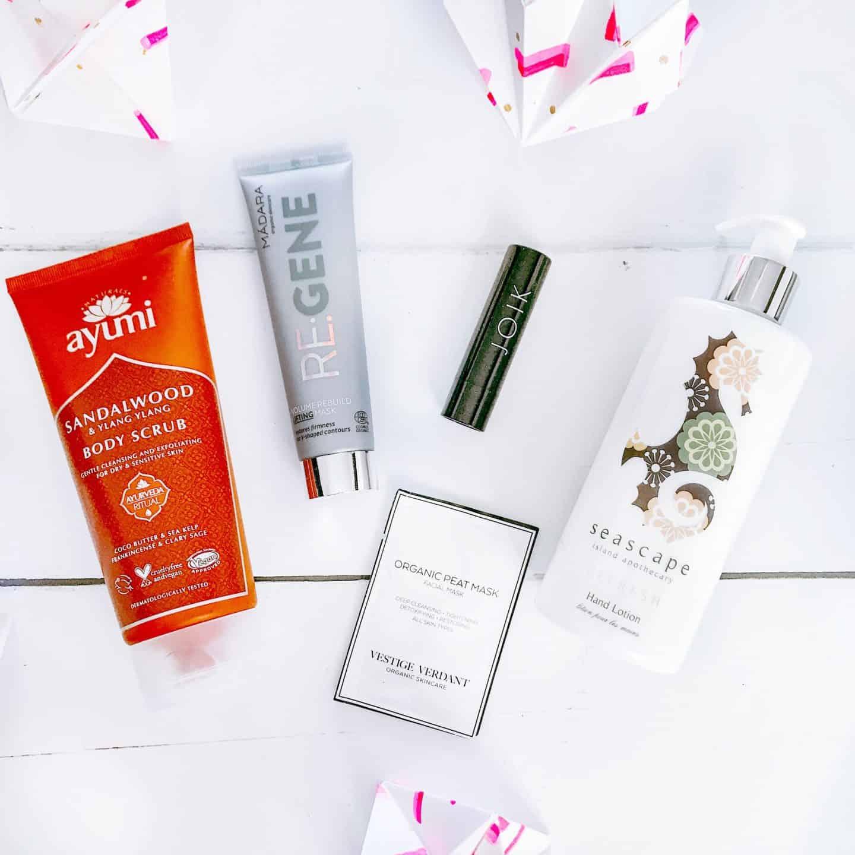 May Love Lula Natural Beauty Box contents