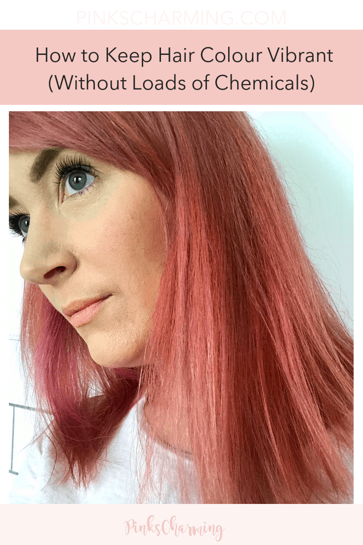 How to Keep Hair Colour Vibrant For Longer (Without Loads of Chemicals)