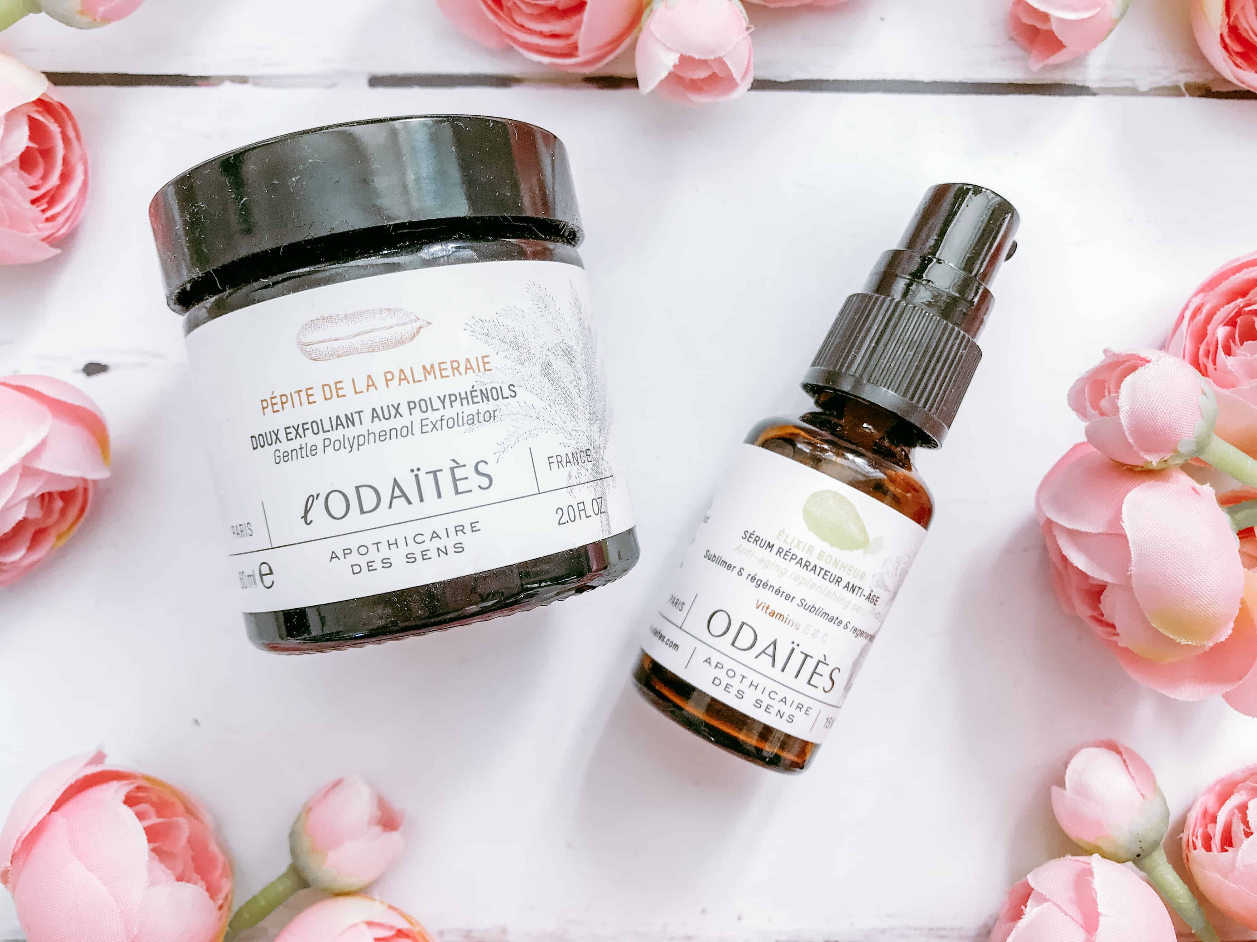 L'Odaites Review - Gentle Polyphenol Exfoliator and Anti-Ageing Replenishing Serum