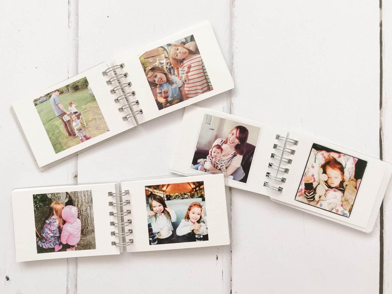 Mini photo books are a great Father's Day present