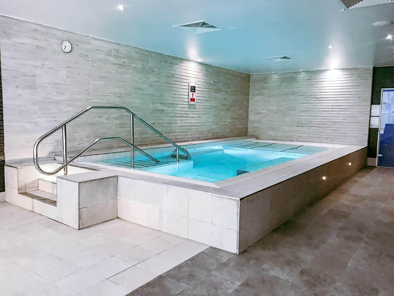 The hot tub at David LLoyd Clubs, Milton Keynes