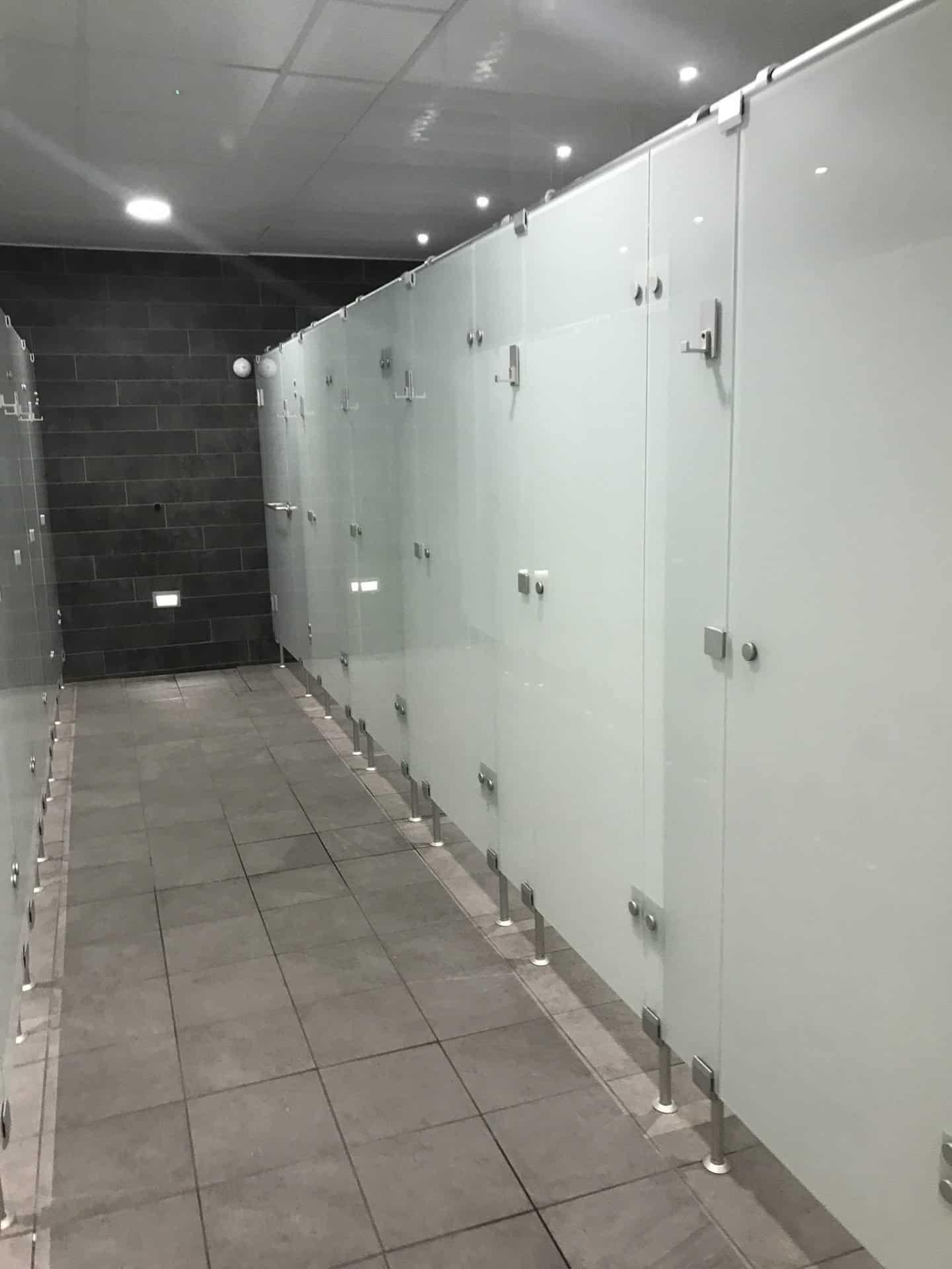 Showers at David Lloyd Milton Keynes