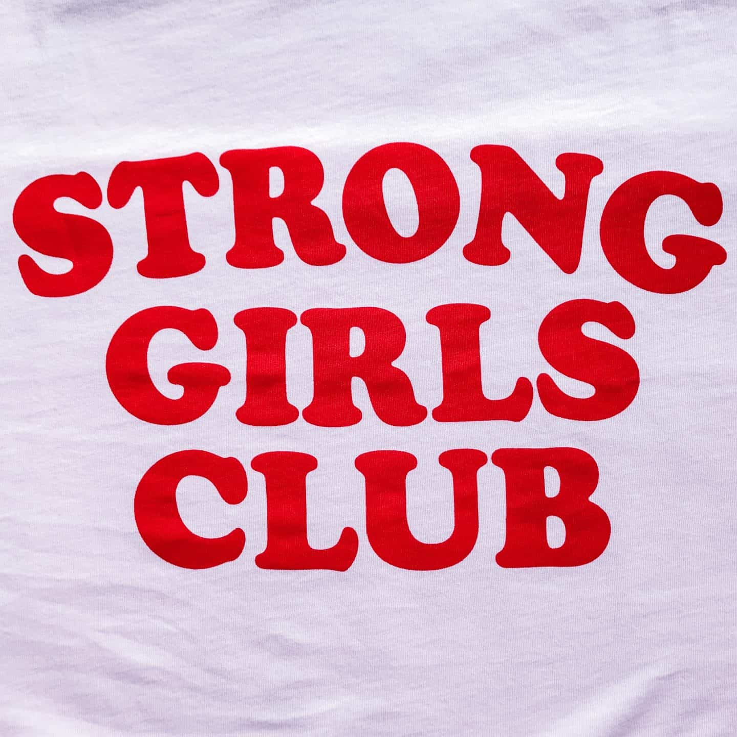 Strong Girls Club ethical organic t-shirt by Mutha.Hood