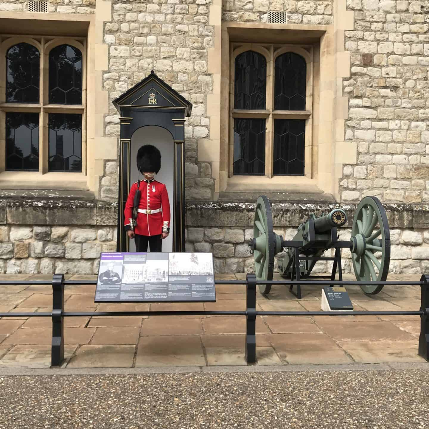 At the Tower of London