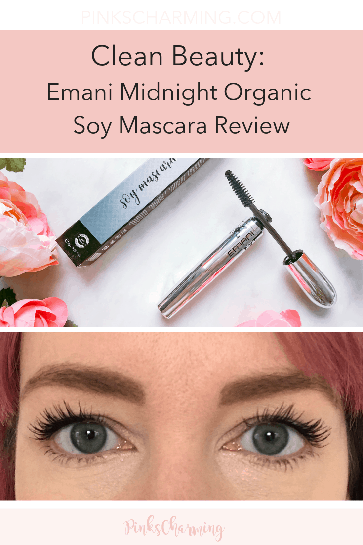 Clean Beauty: Emani Midnight Organic Soy Mascara Review