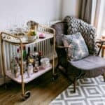 How to Upcycle a Tea Trolley into a Drinks Trolley