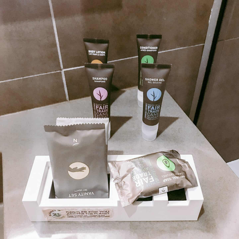Lovely eco-friendly toiletries