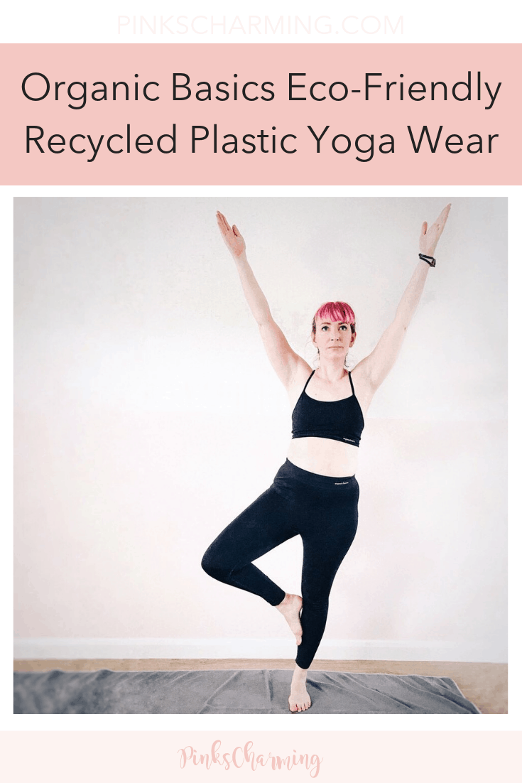 Looking for a sustainable alternative to yoga wear? Read my review of Organic Basics eco-friendly recycled yoga wear to see if it's what you're looking for.