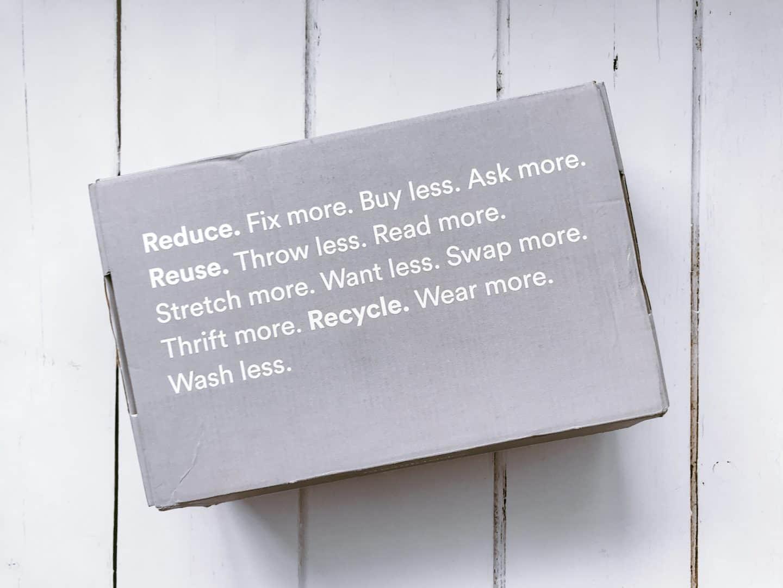 Organic Basics packaging