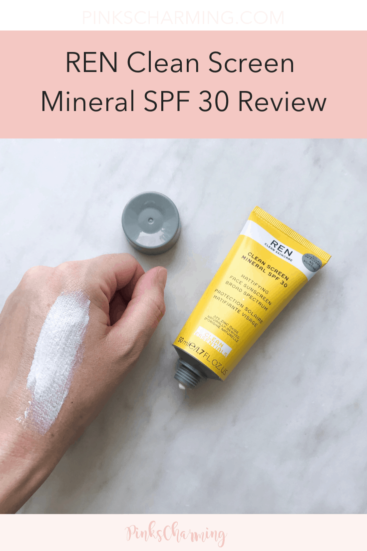 REN Clean Screen Mineral SPF 30 Review