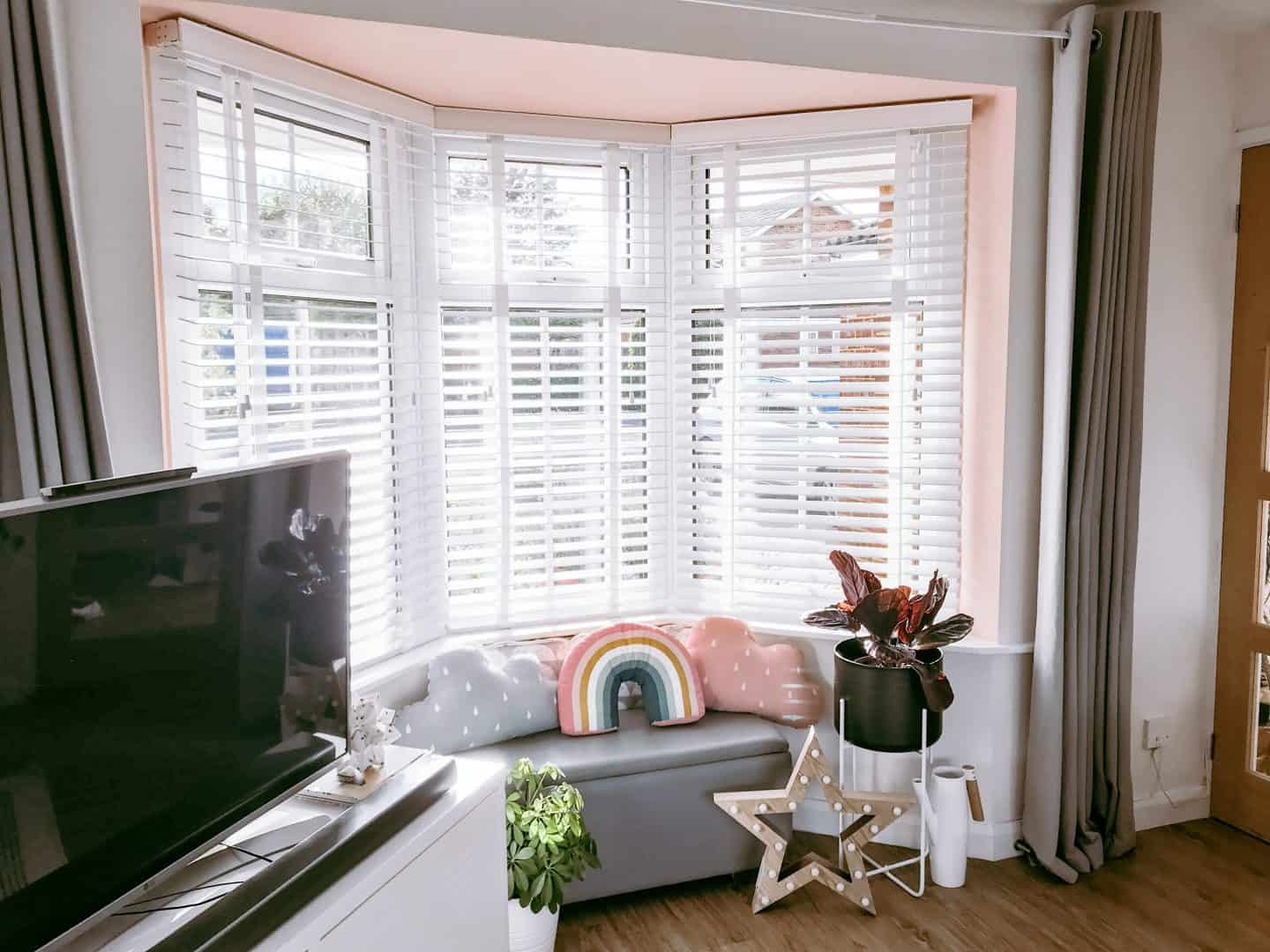 Create The Look Of Shutters With Wooden Blinds With Tapes