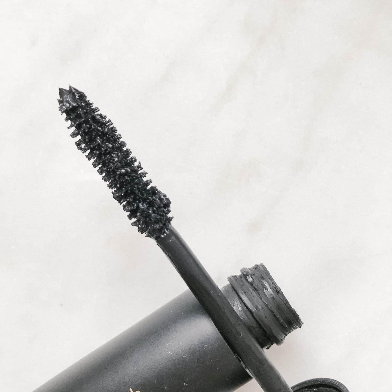 Mascara brush close up