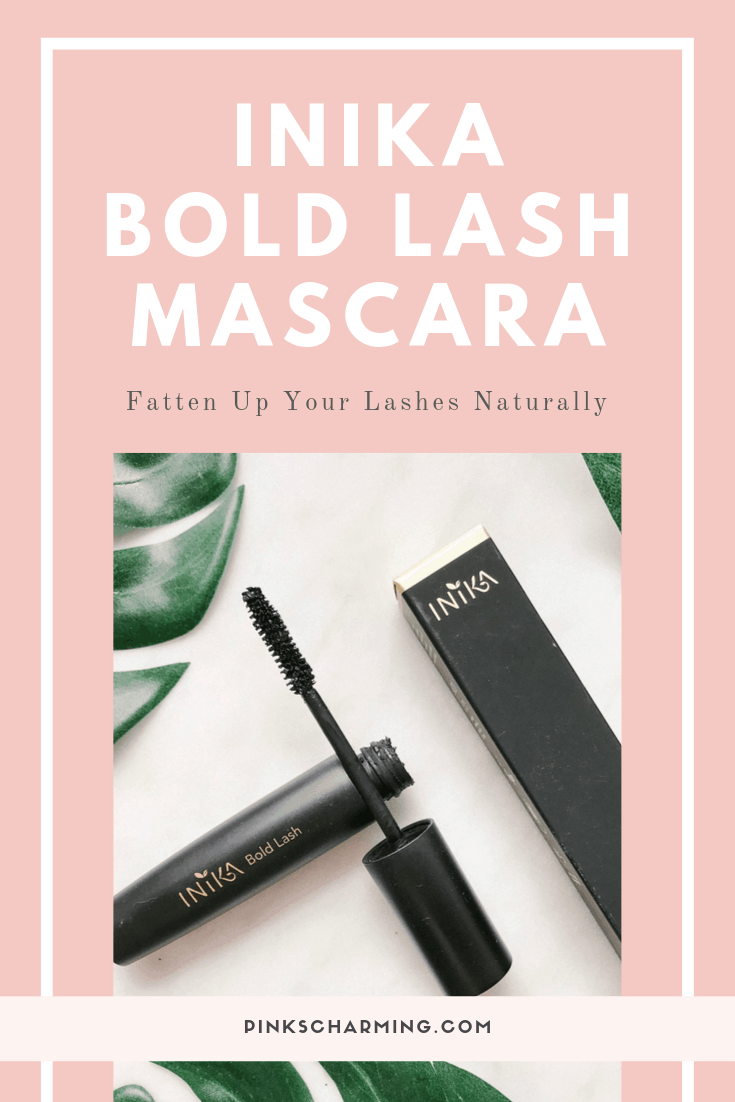 Fatten Up Your Lashes Naturally with Inika Bold Lash Mascara